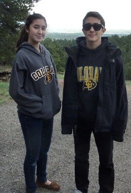 Danielle Sidi (15), with her big brother Sean Sidi (19) missing May 21, 2013 from San Francisco, CA.